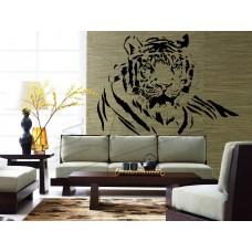 Tigris fej