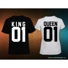 King és Queen páros polószett1