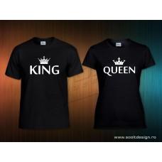 King és Queen páros polószett5